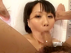 Incredible Japanese girl Yuuna Hoshisaki in Crazy Couple, Handjob JAV scene