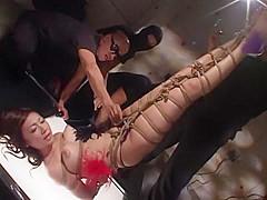 Amazing Japanese slut Ryo Akanishi in Crazy BDSM, Close-up JAV movie