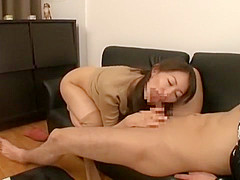 Horny Japanese chick Aoki Misora in Fabulous Lingerie, Cunnilingus JAV movie