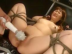 Incredible Japanese chick Kokona Wakai in Crazy Fetish, BDSM JAV clip