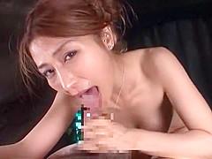 Crazy Japanese whore Akari Asahina in Fabulous Couple, Lingerie JAV movie