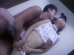 Best Japanese chick Hitomi Shiraishi, Mirei Asaoka in Incredible Couple, Lingerie JAV scene