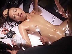 Horny Japanese girl Kyoko Kashii, Azusa Ayano, Runa Sezaki in Best Toys, BDSM JAV clip