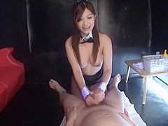 Incredible Japanese girl Haruki Sato in Exotic Blowjob, POV JAV movie