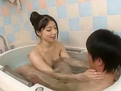 Crazy Japanese girl Yua Sakuya, Seiko Iida in Horny Blowjob, Amateur JAV video