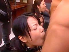 Crazy Japanese model Kuroki Ichika, Maya Maino, Pine Shizuku in Horny Amateur, Group Sex JAV clip