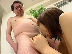 Horny Japanese chick Akane Mochida in Best Threesome, Amateur JAV scene
