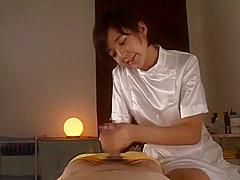 Fabulous Japanese whore Sakura Aida in Amazing Massage, POV JAV clip