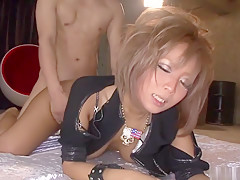 Crazy Japanese model Riku Hinano in Amazing JAV uncensored Shaved movie