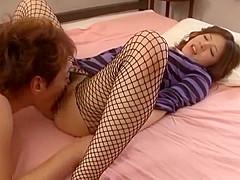Fabulous Japanese chick Natsuki Kitagawa in Horny Lingerie, Big Tits JAV clip