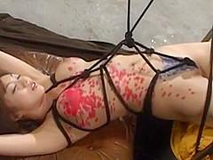Hottest Japanese slut Yuho Mizushima in Incredible Fetish, BDSM JAV clip