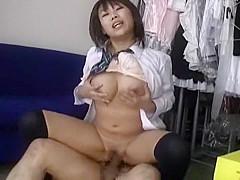 Crazy Japanese slut Niine Ozawa in Hottest Couple, POV JAV scene
