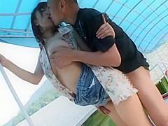 Amazing Japanese chick An Mashiro in Crazy Big Tits, Public JAV video