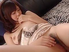 Fabulous Japanese girl Misa Shinozaki, Akane Nagase, Rina Koizumi in Incredible Cunnilingus, POV JAV scene