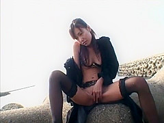 Amazing Japanese model Airi Ito in Crazy Stockings, Outdoor JAV video