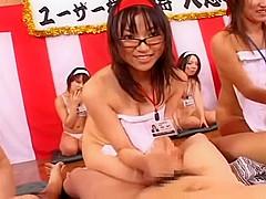Fabulous Japanese slut Yuna Akarino, Riri Kouda, Madoka Kikuhara in Best Group Sex, Toys JAV movie