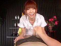 Exotic Japanese model Yui Hatano in Horny POV, Handjob JAV scene
