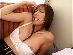Exotic Japanese slut Riko Tachibana in Fabulous Lingerie, Creampie JAV video