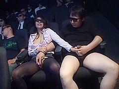 Amazing Japanese model Miharu Izawa, Akari Satsuki, Minako Uchida in Horny Big Tits, Blowjob JAV scene