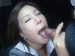Incredible Japanese chick Mio Fujisawa, Mami Orihara in Hottest Blowjob, POV JAV video