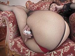 Horny Japanese slut in Incredible Toys, Ass JAV movie