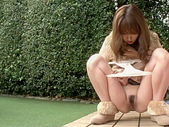 Exotic Japanese girl in Amazing Outdoor, HD JAV clip
