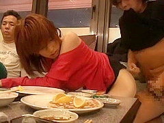 Exotic Japanese model in Incredible Public, Compilation JAV scene