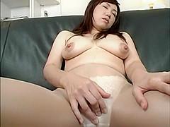 Best Japanese model in Amazing Striptease JAV video