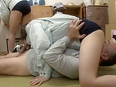 Amazing Japanese slut in Horny Face Sitting, Teens JAV movie