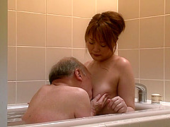 Incredible Japanese slut in Hottest Mature, HD JAV clip