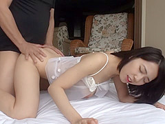 Horny Japanese model in Best Lingerie, POV JAV clip