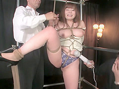 Amazing Japanese whore in Exotic Threesome, Big Tits JAV movie