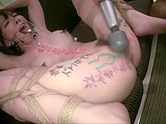 Exotic Japanese whore in Incredible BDSM, Fetish JAV clip
