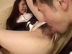 Incredible Japanese model in Horny HD, Teens JAV clip
