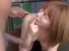 Hottest Japanese chick in Horny MILF, Interracial JAV video