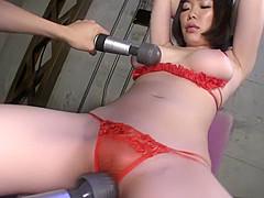 Horny Japanese model in Incredible Big Tits, BDSM JAV movie