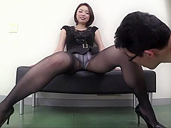Crazy Japanese whore in Fabulous Handjob, Fetish JAV scene