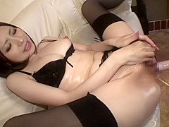 Fabulous Japanese whore in Crazy HD, Masturbation JAV clip