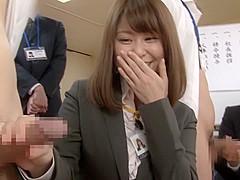 Exotic Japanese girl in Hottest Group Sex, Handjob JAV video