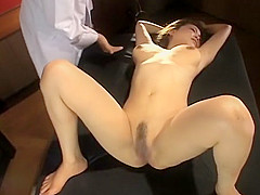 Horny Japanese chick in Amazing Fuck Machine JAV video