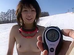 Fabulous Japanese slut in Amazing Public, Outdoor JAV scene