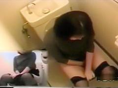 Hidden toilet cam jav masturbation 2
