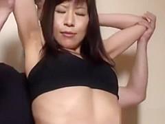 japanese muscular milf massage