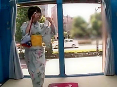 Craziest Japanese chick in New Cosplay JAV clip