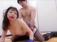 CUTE BIG TITS ASIAN WRESLTING