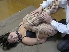 Greatest Japanese chick in Incredible BDSM JAV scene you've seen