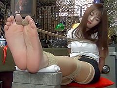 Unbelievable Japanese girl in Incredible Casting, Foot Fetish JAV scene show