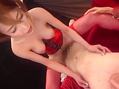 Great Japanese slut in Wild JAV clip pretty one