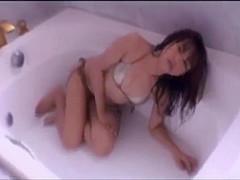 Wet japanese girl