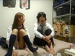 Exclusive Japanese girl in Best Blowjob/Fera, Brunette JAV movie like in your dreams